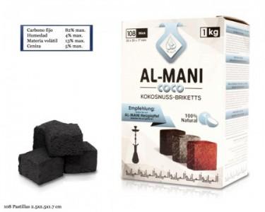 CARBÓN AL-MANI 1 KG