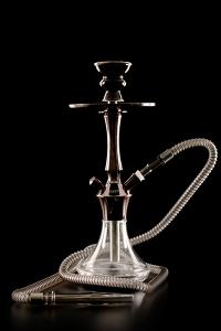 EL KEYIF SHISHA Clear AC 480 Dark Chrom 93419