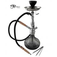 Shisha (Pipa de Agua) Negra Horus con 1 Boquilla