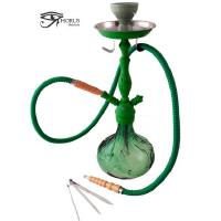 Shisha (Pipa de Agua) Verde Horus con 1 Boquilla