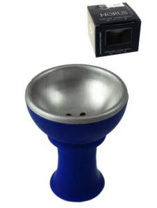 Cazoleta Horus Azul Desmontable en 2 Piezas. Acero Inoxidable.