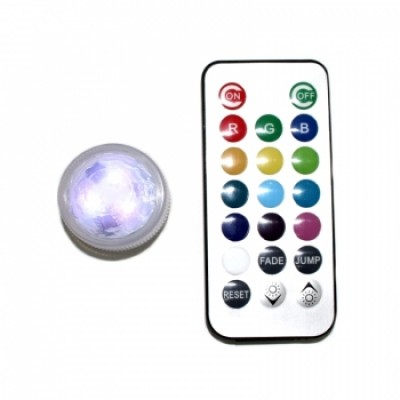 LED 3cm CON MANDO A DISTANCIA